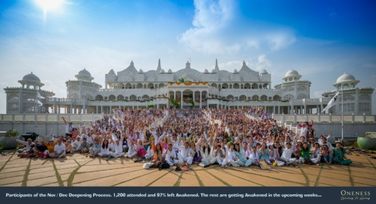Oneness Special Deepening Participants